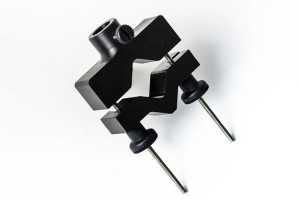 Universal holder for transducers