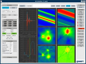 Measurement and control software GS-EchoView or AScan
